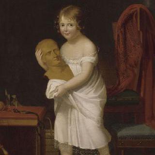 마리 래티치아 뮈라의 초상, 카롤린 보나파르트와 조아킴 뮈라의 딸