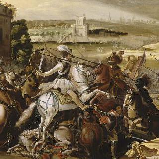 1589년 9월 21일 아르크 전투의 앙리 4세