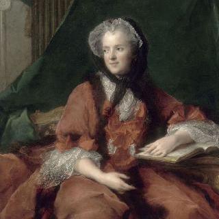 성경을 읽고 있는 마리 레슈친스카 프랑스 왕비 (1703-1768)