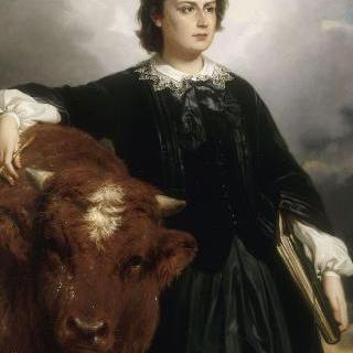 마리 로잘리의 초상, 화가 (1822-1899)