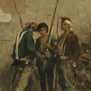 1848년 혁명 이야기 : 1848년 2월 24일 행동 지침