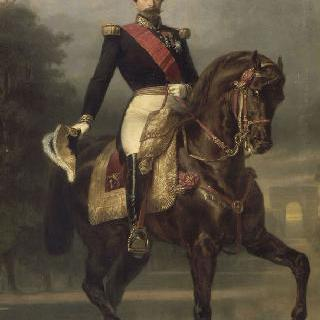 기마의 나폴레옹 3세 프랑스 황제 (1808-1873)