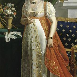 카트린 어브슈세르 전신 초상 (1753-1835)