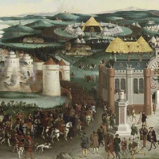 1520년 6월 7일 드랍 도르 진영에서의 프랑수아 1세와 헨리 8세의 회담