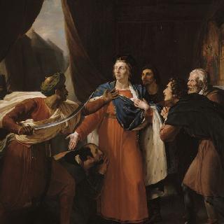 1250년 5월 성 루이의 영웅적인 단호함