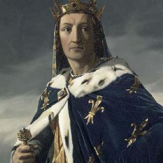 루이 8세의 초상 (1187-1226), 1223년 프랑스 왕