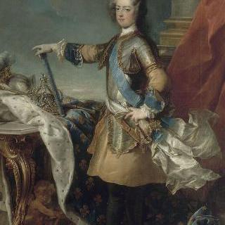 1723년경 루이 15세 프랑스 왕 및 나바르의 왕 (1710-1774)