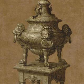 루이 14세의 집기, 은으로 만든 향로