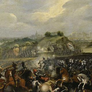 1590년 3월 14일 이브리 전투의 앙리 4세