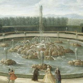 18세기 초 베르사유 정원 앙스라드 못