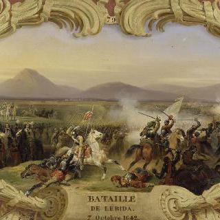 1642년 10월 7일 스페인 군대와의 레리다 전투에서 승리한 옥쾽쿠르 사령관