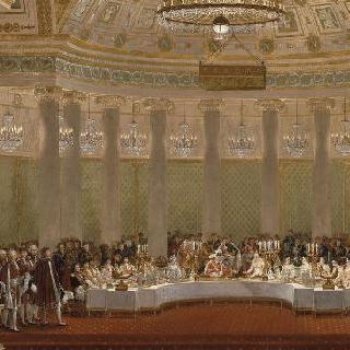 1810년 4월 2일 나폴레옹 1세와 마리 루이즈 결혼 축하연
