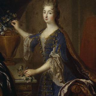 마리 안 드 부르봉, 블로아 마드무아젤, 콩티 공주 (1666-1739)