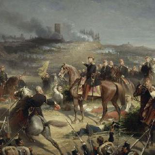 솔페리노 전투 명령을 내리는 나폴레옹 3세, 1869년 6월 24일