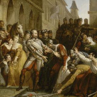 1587년 10월 20일 쿠트라스 전투 후 리부른의 앙리 4세