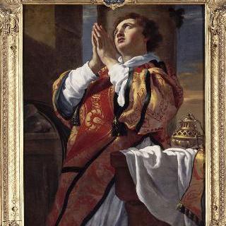기도하는 성 스테파노