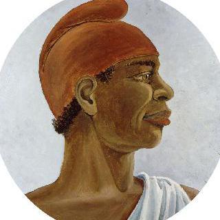 프리지아 모자를 쓴 아프리카인