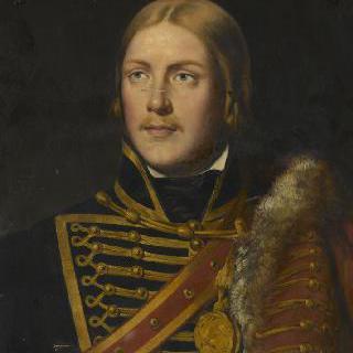 미쉘 네이, 1792년 경기병 제 4연대의 소위