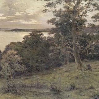 석양의 루아르 강변