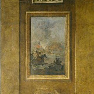 1678년 7월 28일 불타버린 다리