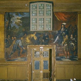 1679년 루아 드 라 페 왕에게 감사를 표하는 유럽 국가들