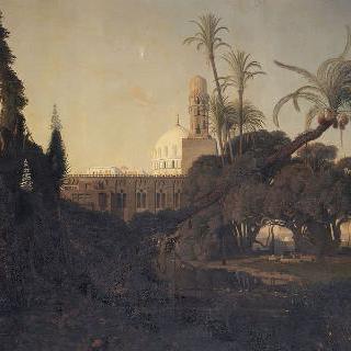 바스 이집트의 회교 사원