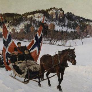 노르웨이 평야의 선원의 장례식