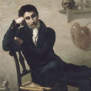 아틀리에의 화가 초상