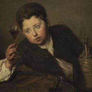 어린 포도주 감정사