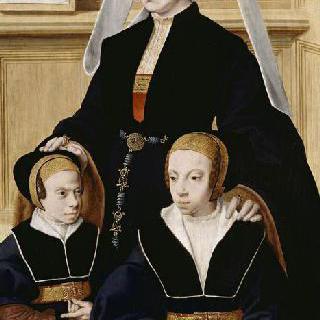 카타리나 본 가일과 두 딸들