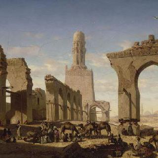 카이로의 칼리프 하켐 회교 사원의 파괴