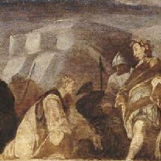 두 왕족 행렬의 만남 (솔로몬왕과 사바 여왕)