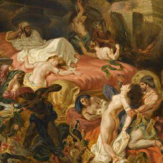 사르다나팔로스의 죽음