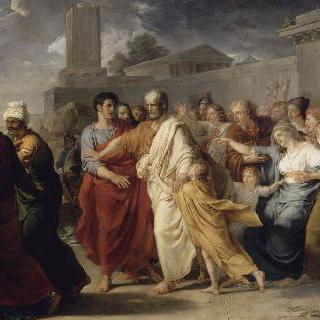 카르타고로 출발하는 레굴루스