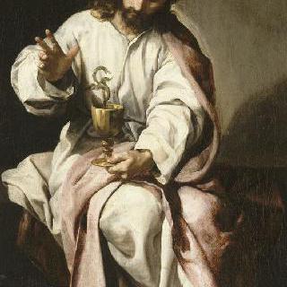 복음 전도자 성 요한과 독이 든 잔