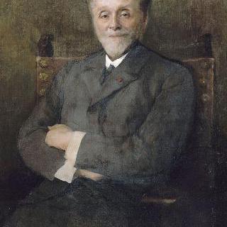 레옹스 베네딕트 룩셈부르그 박물관 관리자의 초상
