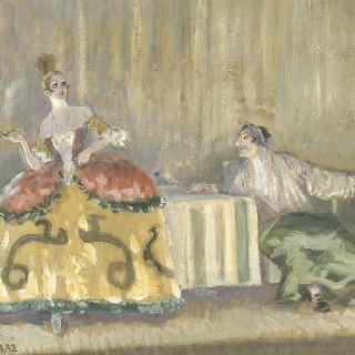 성체의 사륜마차 (메리메 작) ; 연극의 회상