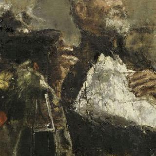 앵무새와 남자