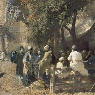 페르시아의 카페