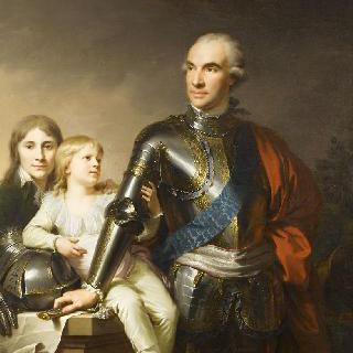 포톡키 백작과 그의 아들들의 초상 (1745-1805)