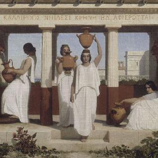 샘의 그리스 여인들
