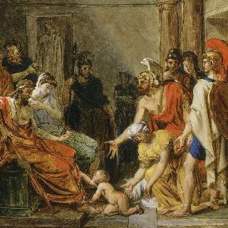 글로시아스 왕 궁전에 젊은 피리우스