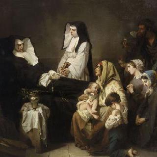애덕회 수녀의 죽음