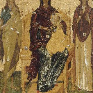 성 요한과 성 파라세브 사이의 성모와 아기 예수