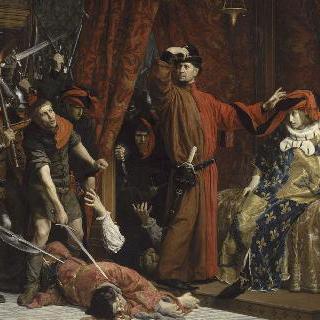 파리 시장 에티엔 마르셀과 왕태자 샤를 (1358년)