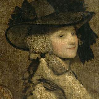 검은 모자를 쓴 여인의 초상