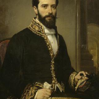 샤를 테오뒬 데베리아, 아쉴 데베리아의 아들, 루브르 이집트관의 관리자