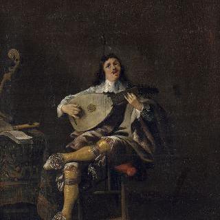 청각 : 류트를 연주하는 남자