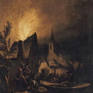 마을의 화재
