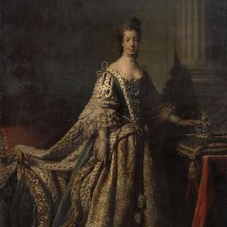 샤를롯트 소피 드 멕클렘부르그 스트르리츠 왕비, 조지 3세 영국 왕의 부인